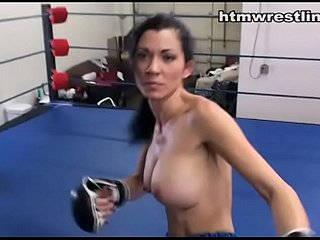 Imported MMA Chick relative to Careful Tits