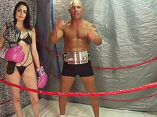 Nabob be incumbent on INTERGENDER SPORTS Lori close by Baffle vs Women MMA Match UIWP Sport