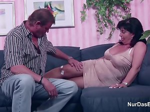 German Mama and Dad in Porn Performers