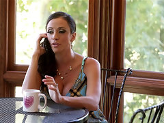 Ariella Ferrera coupled with Kacy Driveway at Mommy's Girl