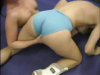 Topless Grown-up n Milf Wrestling (2 matches)