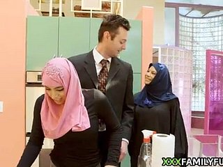 Hijab unreserved gets her first sexual relations experience