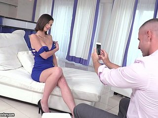 Bonny devilish Mimi Big name gets their way shaved slit nailed well